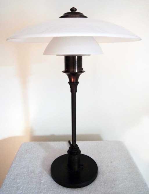 kogle lampe pris